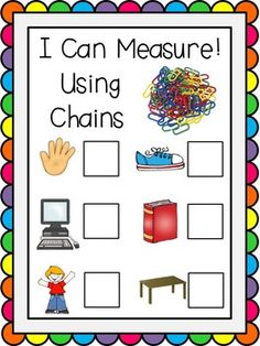 I Can Measure! Freebie