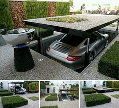 Awesome under-ground garage