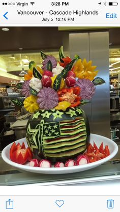 Click to VOTE for this #watermeloncarving! By Laura Poulsen
