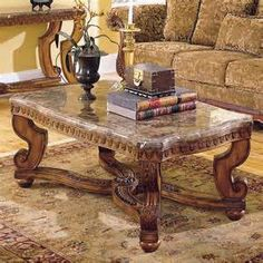 Marble Top Coffee Table Luxury Sectional Sofas Pinterest - Tile top coffee table ashley furniture