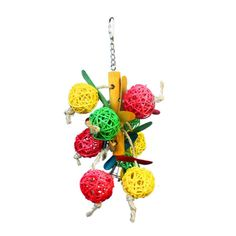 Bird Toys Hanging Balls Swing Chew Toy