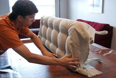 How to Upholster and do Tufting