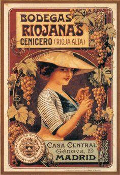 Bonito cartel de Bodegas Riojanas (#Rioja Alta)