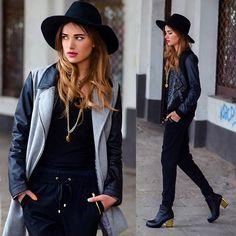 jacket & pant silhouette, jacket pocket width