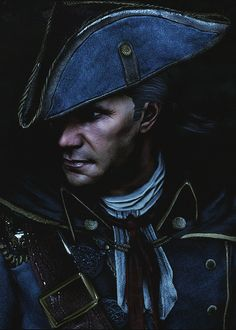 Haytham Kenway. I know he's a Templar and all, but...I love Haytham.