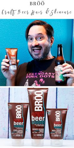 BRÖÖ: The Best Craft Beer Barber Products for Men and Women - You'll love this cruelty free, vegan, sulfate free, silicone free product line! (ad) #BRÖÖhaircare #CraftBeerBarber #vegan