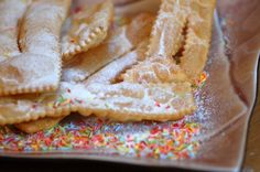 """typical sweets Italian Carnival """"le chiacchiere"""""""