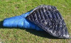 ZPacks.com Ultralight Backpacking Gear - 900 Fill Power Goose Down Sleeping Bags. 20 degree, long 1lb 2oz $400
