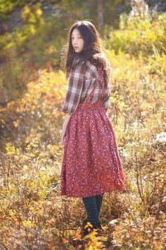 Dear Miss Kellie,: Mori Kei Wardrobe: ESSENTIALS