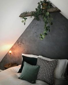 Do It Yourself KABE wall! Small Room Bedroom, Bedroom Colors, Home Decor Bedroom, My New Room, My Room, Living Room With Fireplace, Room Interior, Home And Living, Room Inspiration