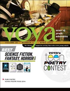 April 2015 Science Fiction, The Voice, Poetry, Teen, Magazine, Cover, Sci Fi, Poems, Slipcovers