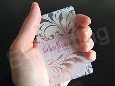 Transparent Business Cards - Quieres una tarjeta como esta? Con nosotros puedes. -Tarjenova