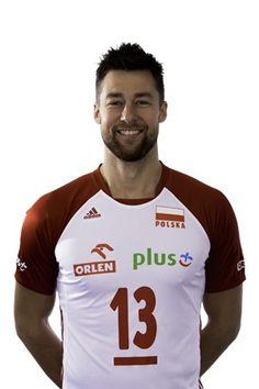 Gracz - Michał Kubiak - FIVB Siatkówka Liga Narodów 2019 Volleyball, Passion, Sports, Mens Tops, Hs Sports, Volleyball Sayings, Sport