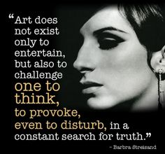 Quotes and inspiration from Celebrity QUOTATION - Image : As the quote says - Description Barbra Streisand on art Sharing is everything - We, at Quotes Daily, we think that sharing is everything, so don't Words Quotes, Wise Words, Me Quotes, Sayings, Famous Quotes, Acting Quotes, Acting Tips, Acting Lessons, Acting Class
