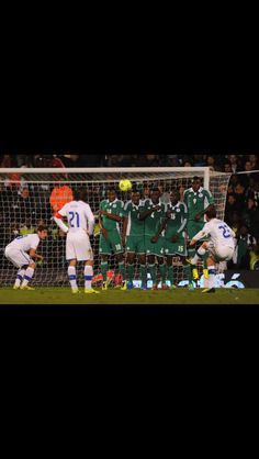 Free kick of Alessandro Diamanti against Nigeria
