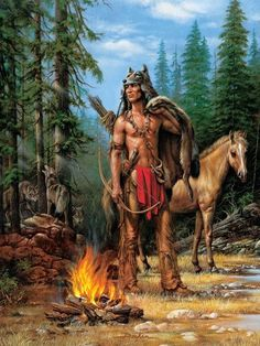 native american indians Welcome to the Manor: Native Americans Native American Warrior, Native American Beauty, Native American Tribes, American Indian Art, Native American History, American Indians, Native American Paintings, Native American Pictures, Indian Paintings