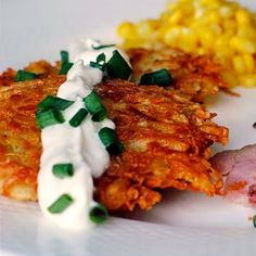 Garlic Parmesan Potato Latkes - Rock Recipes -The Best Food & Photos from my St. John's, Newfoundland Kitchen.