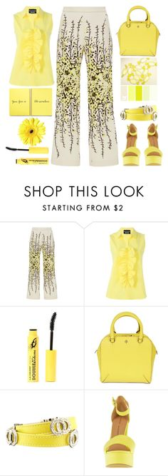 """""""Sunny days"""" by juliehalloran ❤ liked on Polyvore featuring Giambattista Valli, Boutique Moschino, Tory Burch, Bulgari and Chinese Laundry"""