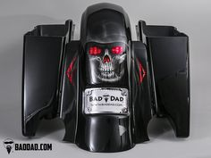 Bad Dad | Custom Bagger Parts for Your Bagger | Fender with Flush Brake Light & Flush Turn Signals