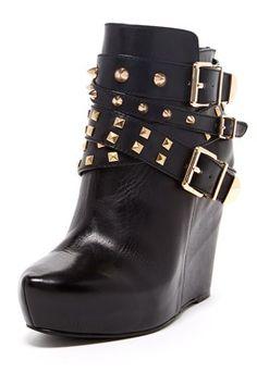 HauteLook   BCBGeneration Shoes: Aspen Ankle Wedge Bootie