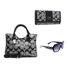 Coach 3 items Value Spree bag + Wallets + Sunglasses