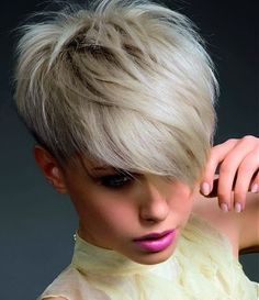 Edgy Women's Short Haircuts