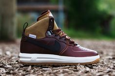 "Nike Lunar Force 1 Sneakerboot ""Barkroot Brown"" (Detailed Pictures)"