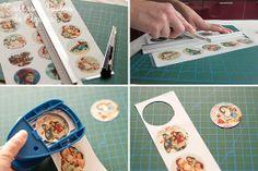 Como decorar galletas con papel de azúcar paso a paso