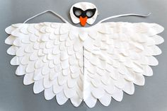 White swan costume for children. Great for kids' school plays, Halloween and Carnival.