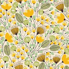 Papel de Parede Floral 1168