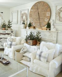 50 Adorable Farmhouse Living Room Furniture Design Ideas And Decor. If you are looking for [keyword], You come to the right place. Below are the 50 Adorable Farmhouse Living Room Furniture Design Idea. Shabby Chic Living Room, Farmhouse Decor Living Room, Home Living Room, Rustic Farmhouse Living Room, Living Room Furniture, Home Decor, Room Furniture Design, Living Decor, Chic Home Decor
