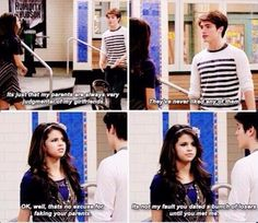 Wizards of waverly place Old Tv Shows, Kids Shows, Disney Memes, Disney Quotes, Old Disney Shows, Turn Down For What, Selena Gomez, Old Disney Channel, Phineas Y Ferb