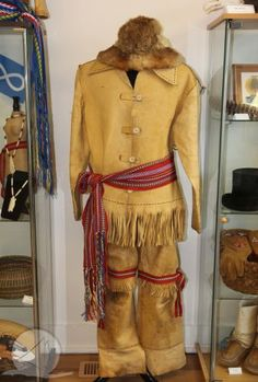 On display at the Historic Saugeen Métis Interpretive Learning Centre located in Southampton, Ontario.