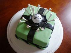 Golf Cake by Dani Cakes, via Flickr