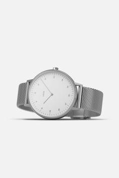 Silver / Mesh Watch by VERK | Scandinavian timekeeping, build to last | verkstore.com