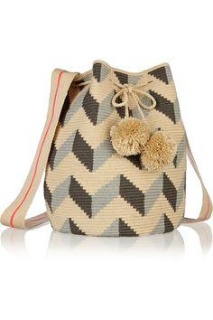 Sophie Anderson|Lilia crocheted cotton shoulder bag|NET-A-PORTER.COM