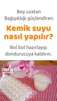 Baby Food Recipes, Diet Recipes, Healthy Recipes, Turkish Recipes, Kombucha, Natural Health, Food And Drink, Homemade, Dishes