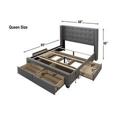 Decorate your room in a new style with murphy bed plans Bedroom Closet Design, Bedroom Furniture Design, Bed Furniture, Home Decor Furniture, Bedroom Decor, Furniture Stores, Bedroom Colors, Bedroom Ideas, Master Bedroom