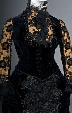 Worth - Robe de Soirée - 1878