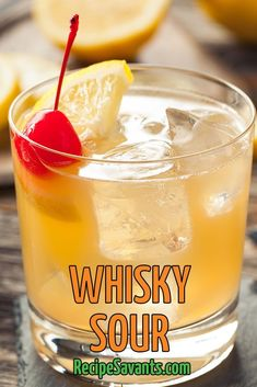 When you combine bourbon, lemon juice, and a simple syrup you get pure nirvana. A whiskey sour is one of the best drinks to serve at your next cocktail party. Serve them with some crispy fish sticks made with panko breadcrumbs for a fantastic pairing.