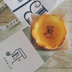 : 幸せな時間✨ 3時のおやつ #PABLO #cheesetart : 沖縄は2店舗 ●沖縄国際通り ●アウトレットモールあしびなー《先日new…