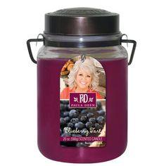 Image detail for -Walmart.com: Paula Deen Studio Jar Candle, Blueberry Tart: Household ...