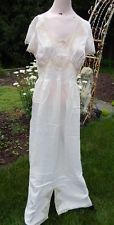 Vintage Pale Pink c1940s Nightgown w Lace Miss Townley NEW w Tag 38 Never Worn