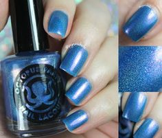 Octopus Party Nail Lacquer Blue York