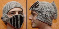 Fun Knight Mask of Wool Helmet