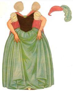 Filmic Light: A Snow White Sanctum: Vintage Snow White Cut-Out Dolls