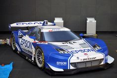 Paper Craft Honda NSX Super GT Race Car (made entirely of paper and cardboard) 1:1 Scale!