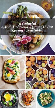 51 Colorful Spring Vegetable Recipes