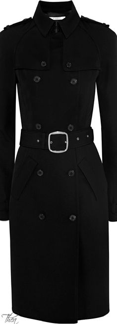 Givenchy ● Wool-twill trench coat