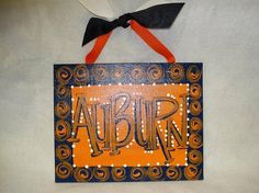 AUBURN canvas craft